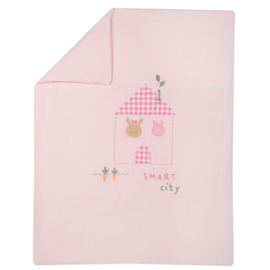 Одеяло Chicco Smart city, арт. 090.05140.011, цвет Розовый