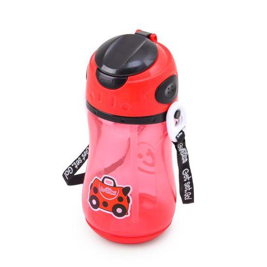 "Бутылочка-непроливайка Trunki ""Ladybird"", арт. 0296-GB01, цвет Красный"