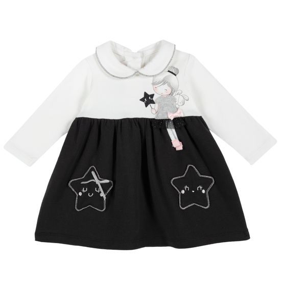 Платье Chicco Magic star, арт. 090.03757.098, цвет Синий