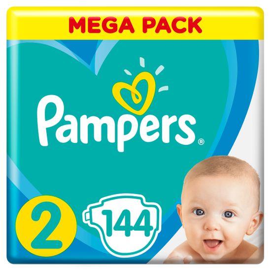 Подгузники Pampers Active Baby, размер 2, 4-8 кг, 144 шт, арт. 8001090950772