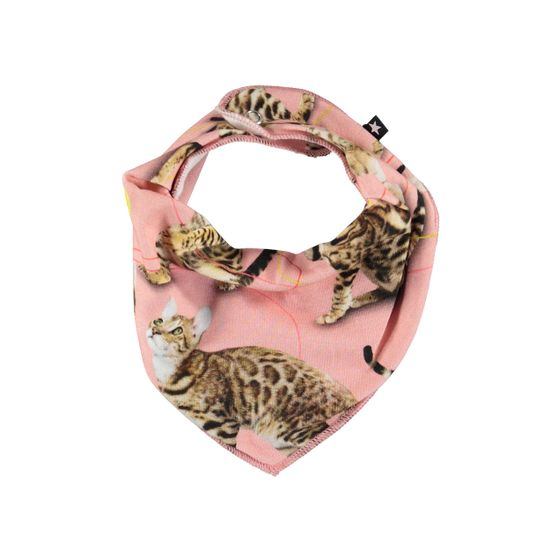 Слюнявчик Molo Nayela Wannabe Leopard, арт. 7W19T101.4875, цвет Розовый
