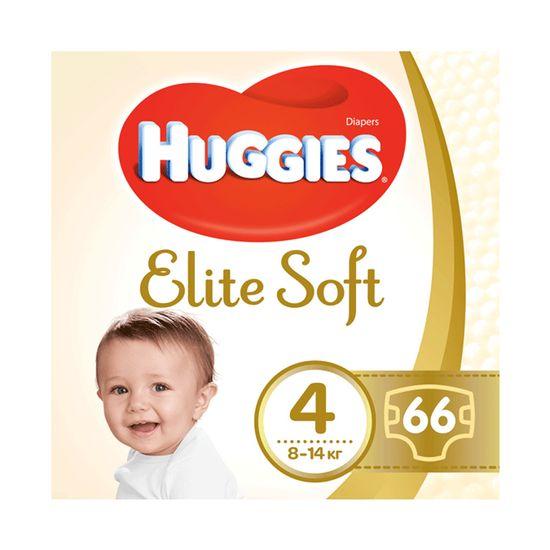Подгузники Huggies Elite Soft, размер 4, 8-14 кг, 66 шт, арт. 5029053545301