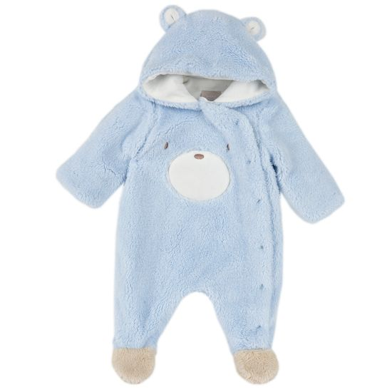 Комбинезон Chicco Gentle bear, арт. 090.02137.021, цвет Голубой