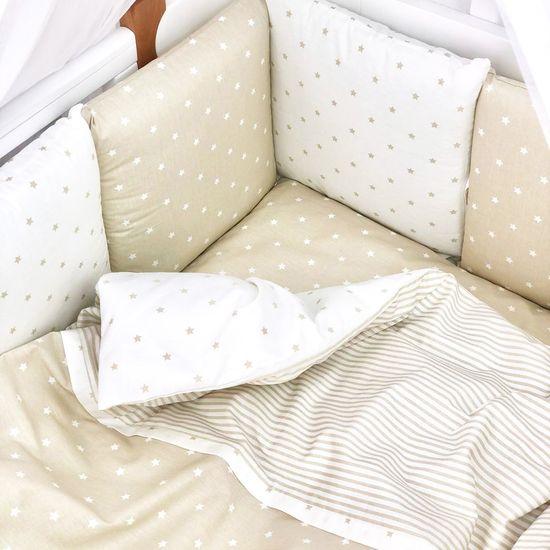 """Комплект постельного белья Piccolino """"Beige stars"""", арт. 111777.04, цвет Бежевый"""
