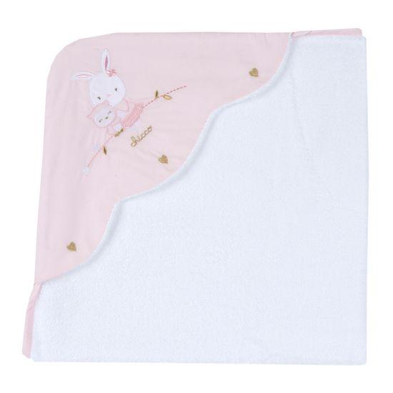 Полотенце Chicco Gentle hug, арт. 090.00200.011, цвет Розовый