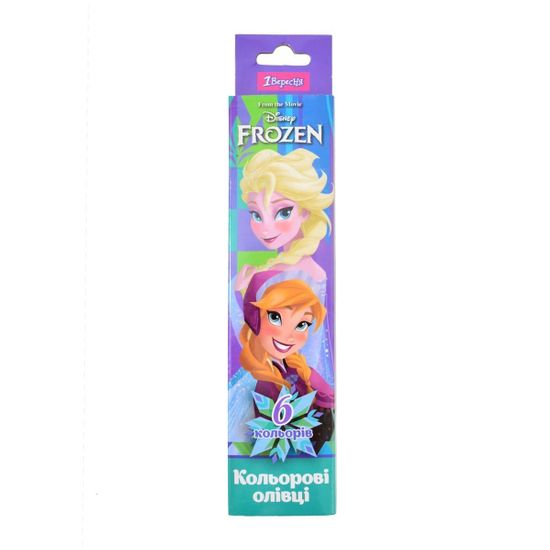 "Карандаши 1Вересня ""Frozen"", 6 цв., арт. 290524"