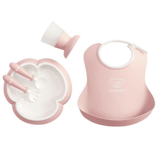 Набор детской посуды BabyBjorn Baby Dinner Set, арт. 7006, цвет Розовый