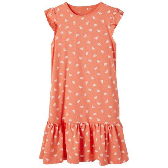 Платье Name it Happiness orange, арт. 211.13189223.PERS, цвет Оранжевый