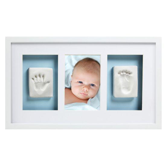 Рамка для фото и глиняного слепка (белая), арт. P63000, цвет Белый