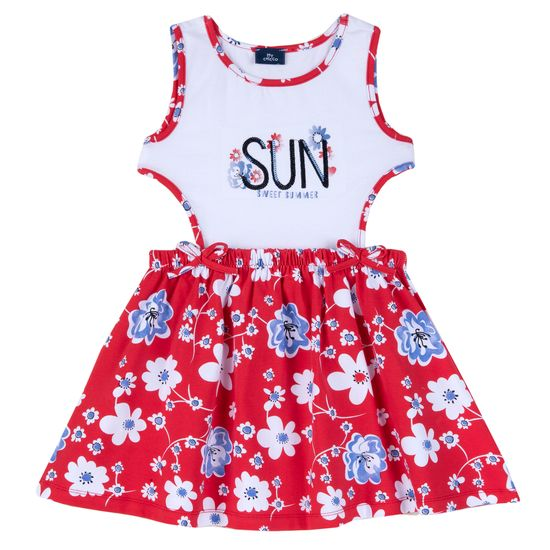 Платье Chicco Sun, арт. 090.03947.076, цвет Красный