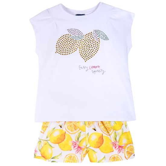 Костюм Chicco Fruit: футболка и шорты, арт. 090.73710.064, цвет Белый