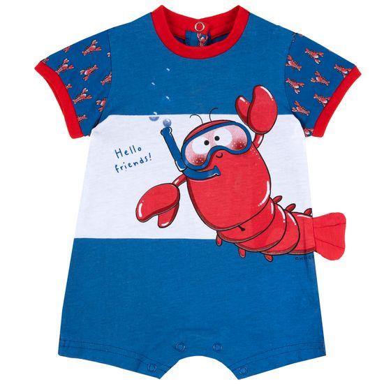 Полукомбинезон Chicco Cool lobster, арт. 090.50582.085, цвет Голубой