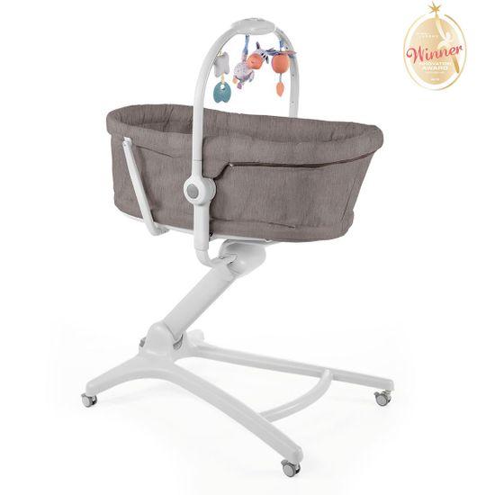 Кроватка-стульчик Chicco Baby Hug 4в1, арт. 79173, цвет Коричневый