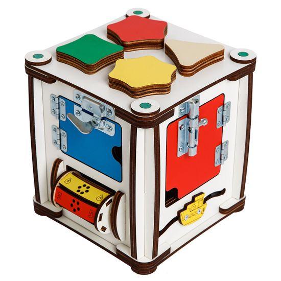 """Бизиборд GoodPlay """"Кубик"""", 17х17х18 см, с подсветкой, арт. K005"""