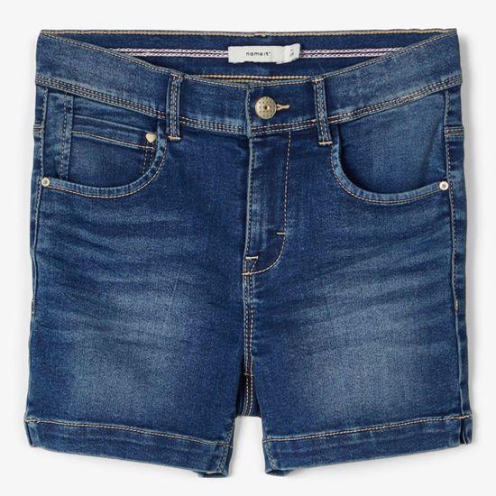 Шорты джинсовые Name it Olivia, арт. 201.13173432.MBLU, цвет Синий