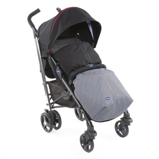 Прогулочная коляска Chicco Lite Way 3Top Special Edition Pied Poule, арт. 79599.35, цвет Черный