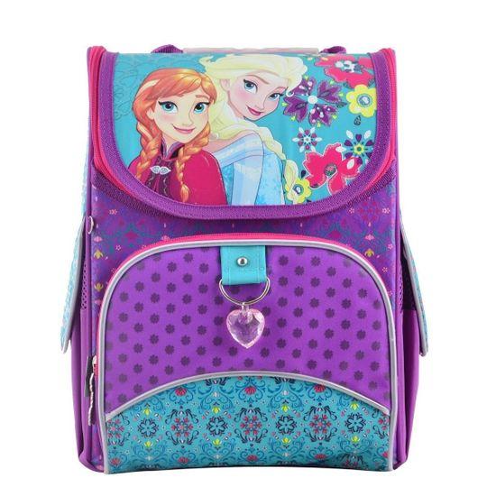 "Рюкзак школьный каркасный  YES ""Frozen purple"", арт. 555160"