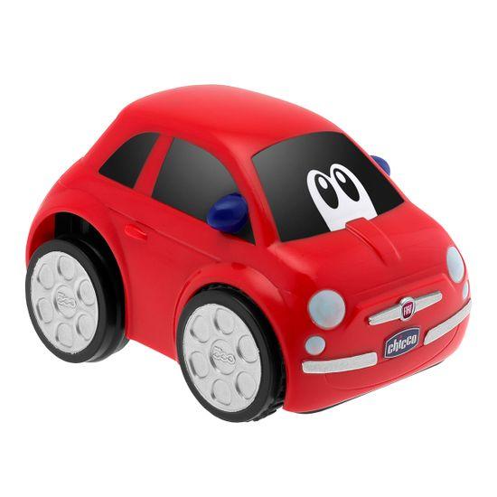 """Машинка инерционная Chicco """"Fiat 500, Turbo Touch"""", арт. 07331, цвет Красный"""