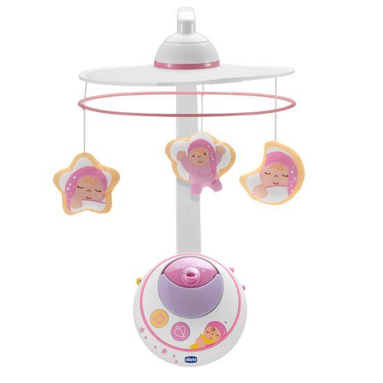 """Игрушка на кроватку Chicco """"Волшебные звёздочки"""", арт. 02429, цвет Розовый"""