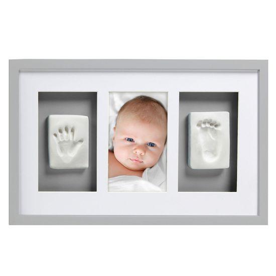 Рамка для фото и глиняного слепка (серая), арт. P63001, цвет Серый