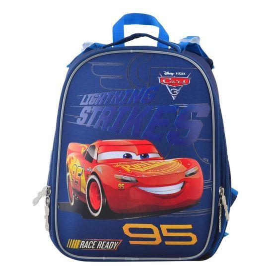 """Рюкзак школьный каркасный 1Вересня """"Cars"""", арт. 555368"""