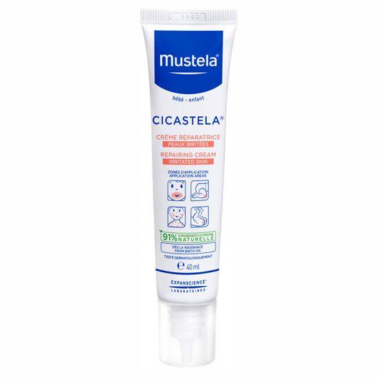 """Восстанавливающий крем Mustela """"Cicastela"""", 40 мл, арт. 8703334"""