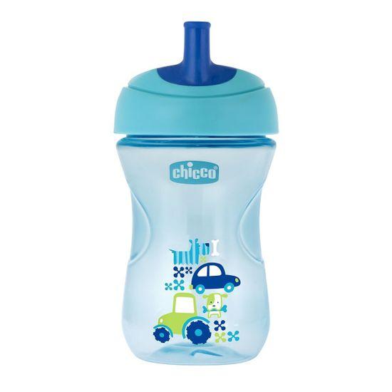 """Поильник непроливной Chicco """"Advanced Cup"""", 266 мл, 12м+, арт. 06941, цвет Голубой"""