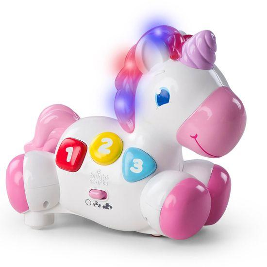 "Игрушка музыкальная Bright Starts ""Rock & Glow Unicorn"", арт. 10307"