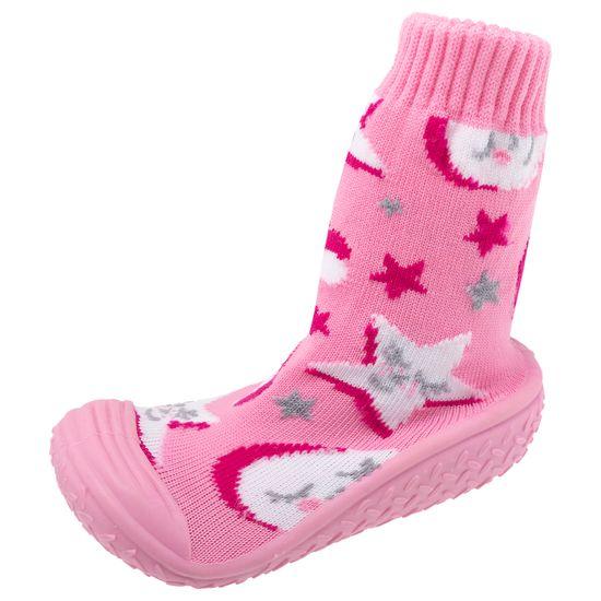 Тапочки-носки Chicco Morbidotti Shine, арт. 011.64721.100, цвет Розовый