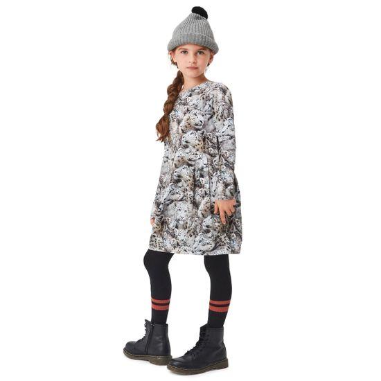 Платье Molo Cindarell Winter Leopards, арт. 2W21E216.6376, цвет Серый