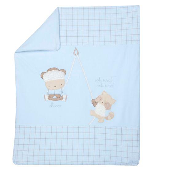 Одеяло Chicco Ronald, арт. 090.05177.021, цвет Голубой