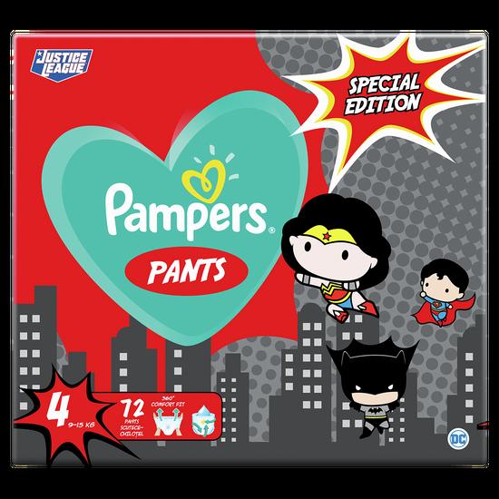 Подгузники-трусики Pampers Pants SPECIAL EDITION, размер 4, 9-15 кг, 72 шт, арт. 8001841968254