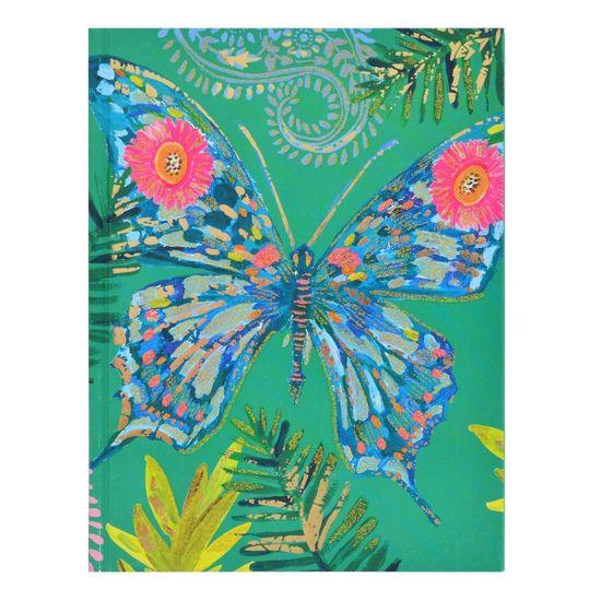 """Блокнот YES """"Bon Cote. Butterfly"""", клетка, А5, 64 л., арт. 151447"""