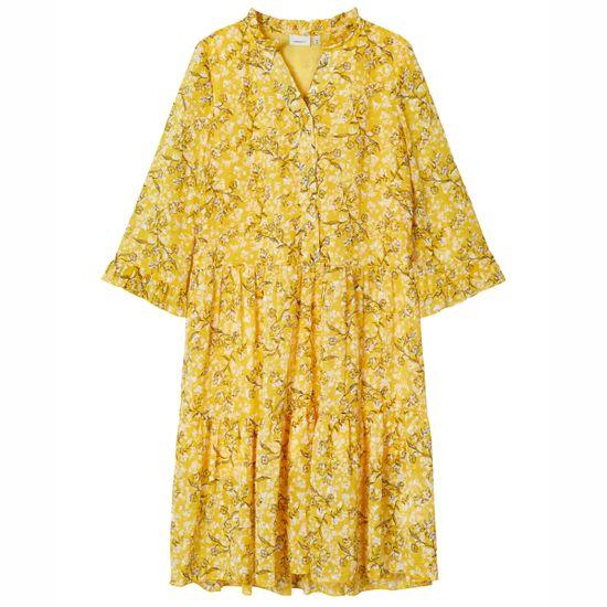Платье Name it Janna, арт. 203.13179304.SMUS, цвет Желтый