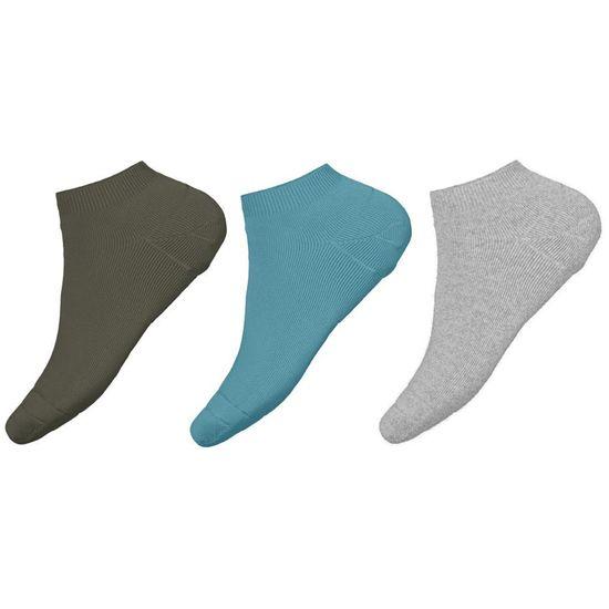 Носки (3 пары) Name it Classic style, арт. 211.13191043.AQUA, цвет Голубой