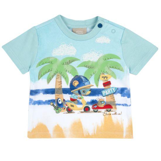 Футболка Chicco Traveler, арт. 090.67204.033, цвет Голубой