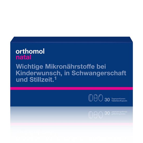 "Витамины для беременных Orthomol ""Natal"", 30 дней, капсулы, арт. 4260022694427"