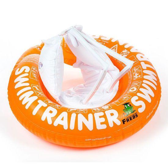 Круг для обучения детей плаванию SWIMTRAINER, 2 - 6 лет, арт. 10220, цвет Оранжевый