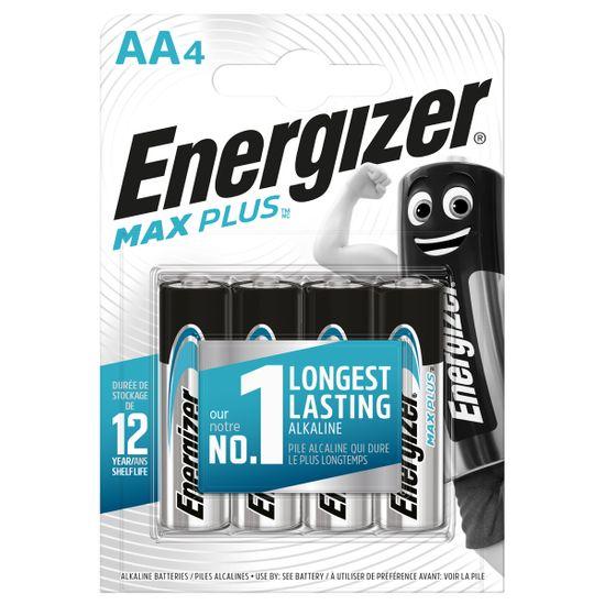Батарейки Energizer AA Max Plus, 4 шт., арт. 6450607
