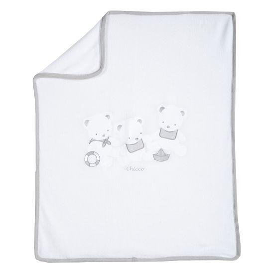 Плед Chicco Sailors, арт. 090.05117.033, цвет Белый