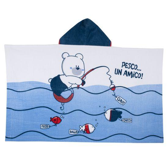 Полотенце Chicco Swimmer, арт. 090.40906.032, цвет Синий
