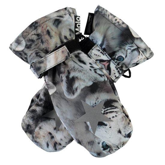 Термоварежки Molo Mitzy Snowy Leopards, арт. 7W21S104.6348, цвет Серый