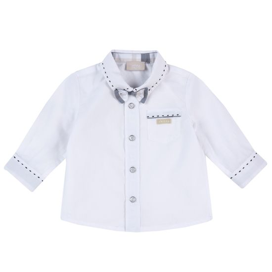 Рубашка Chicco Little boss, арт. 090.54563.033, цвет Белый