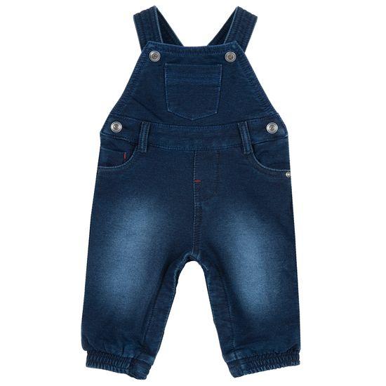 Полукомбинезон джинсовый Chicco Lavla, арт. 090.95599.088, цвет Синий