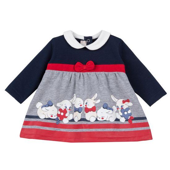 Платье Chicco Snow White, арт. 090.37820.085, цвет Синий