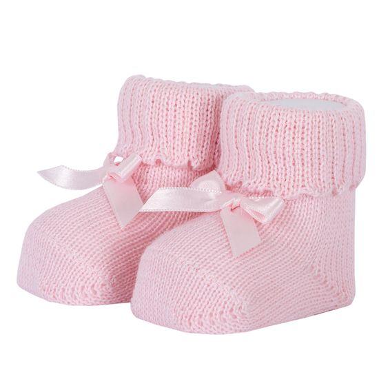 Носки-пинетки Chicco Little rabbit, арт. 090.01204.011, цвет Розовый