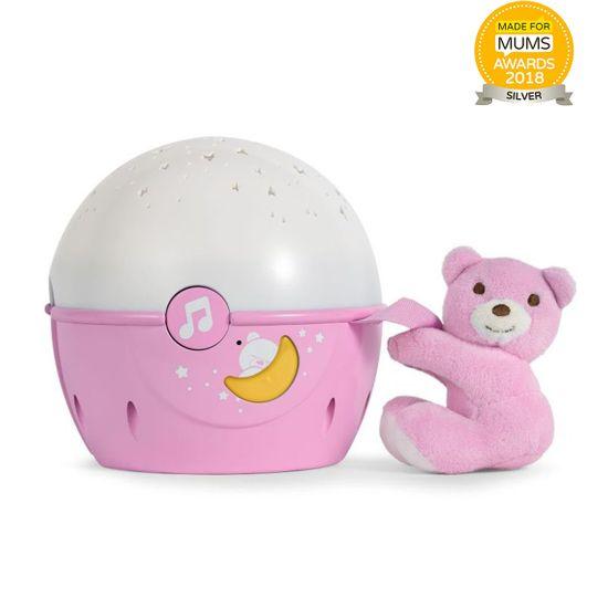 "Игрушка-проектор Chicco ""Next 2 Stars"", арт. 07647, цвет Розовый"