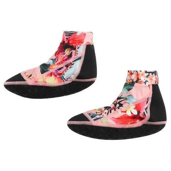 Носки-аквашузы для плавания Molo Zabi Hawaiian Flowers, арт. 7S21U301.6208, цвет Розовый