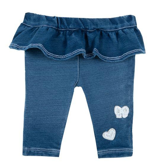 Брюки джинсовые Chicco Rosabella, арт. 090.08368.085, цвет Синий