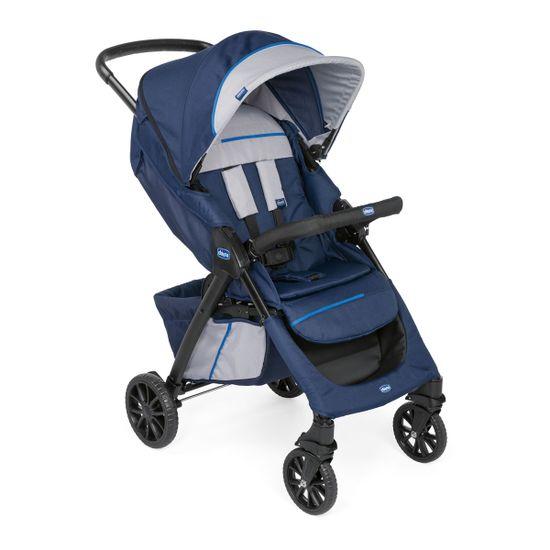 Прогулочная коляска Chicco Kwik One, арт. 79434, цвет Синий